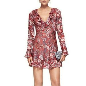 《For Love & Lemons》NWT Gracie Berry Floral Dress